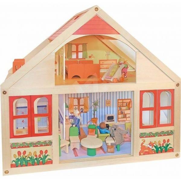 Woody Domček pre bábiky - Veronika - Doplnok pre bábiky
