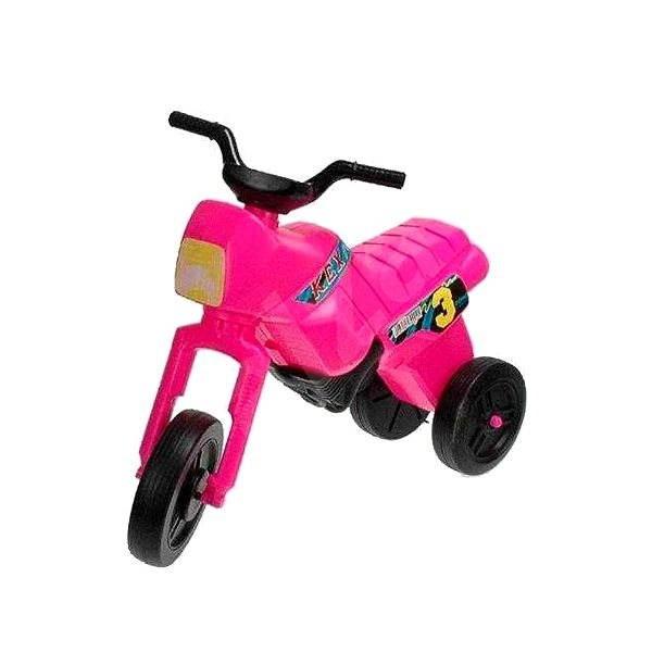 f2bee80d77d9 Motorka Enduro veľká - ružová - Detské odrážadlo