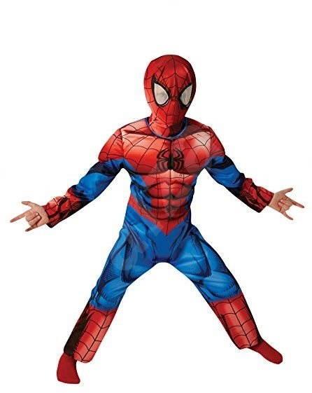 Spiderman Deluxe vel. M - Detský kostým