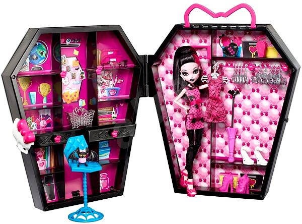 162aa8b74540 Monster High - Draculaura a skriňa - Bábika