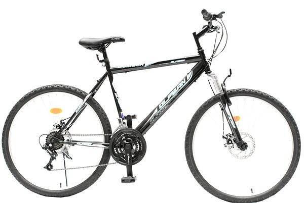 88aabe4a0465f Olpran Pánske kolo Bomber sus disc čierno / modré - Detský bicykel 26