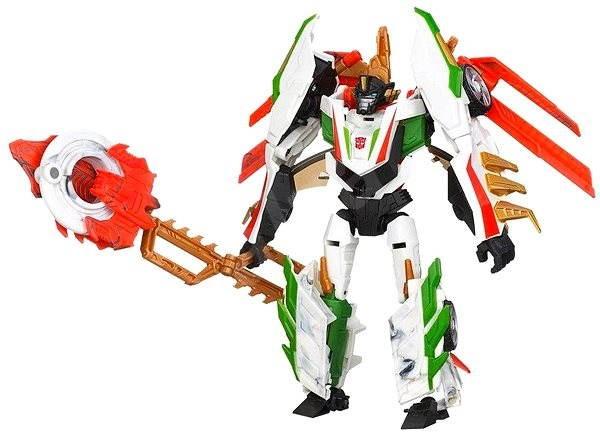 Transformers - Pohyblivý transformer s vylepšením Wheeljack - Figúrka
