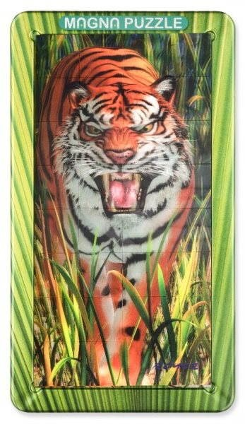 3D Magnetické puzzle Tiger - Puzzle