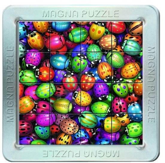 3D Magnetické puzzle Lienky - Puzzle