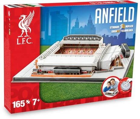 3D Puzzle Nanostad UK – Anfield futbalový štadión Liverpool - Puzzle