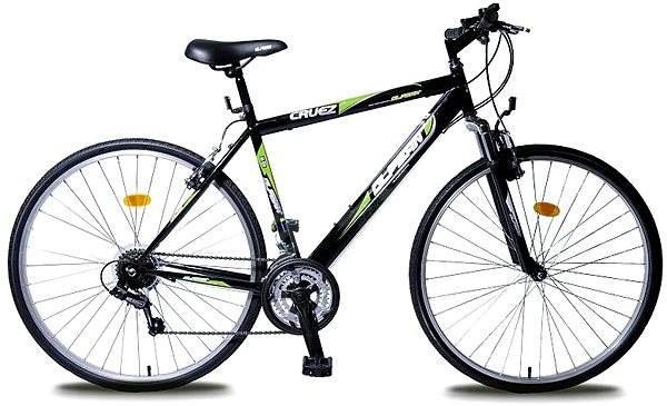 ec3406ca5dc85 Olpran Pánsky krosový bicykel Cruez sus zelený - Crossový bicykel ...