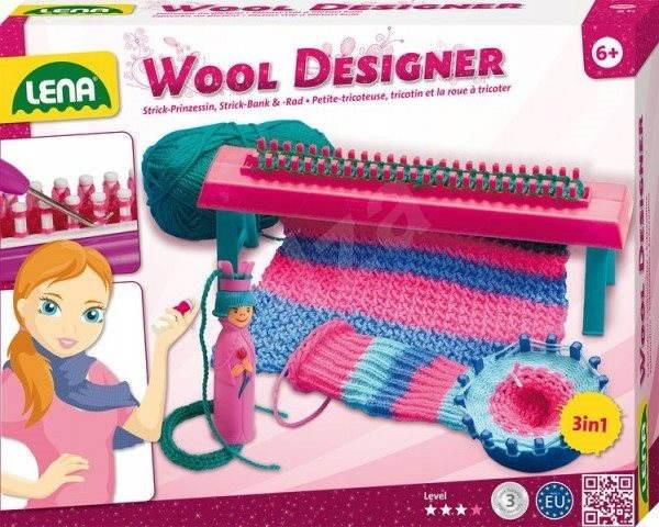 Lena Štúdio pletenia - Kreatívna súprava
