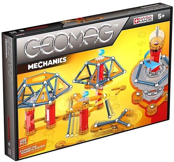 Geomag – Mechanics 222 dielikov - Magnetická stavebnica