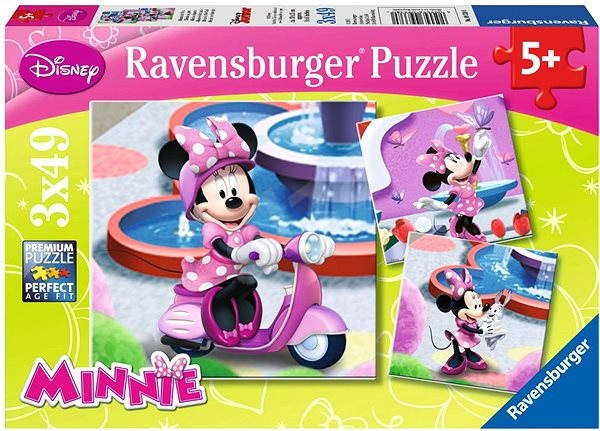Minnie v parku - Puzzle
