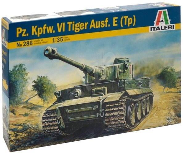 Italeri Model Kit 0286 tank - Pz. Kpfw. VI Tiger Ausf. E (Tp) - Plastikový model