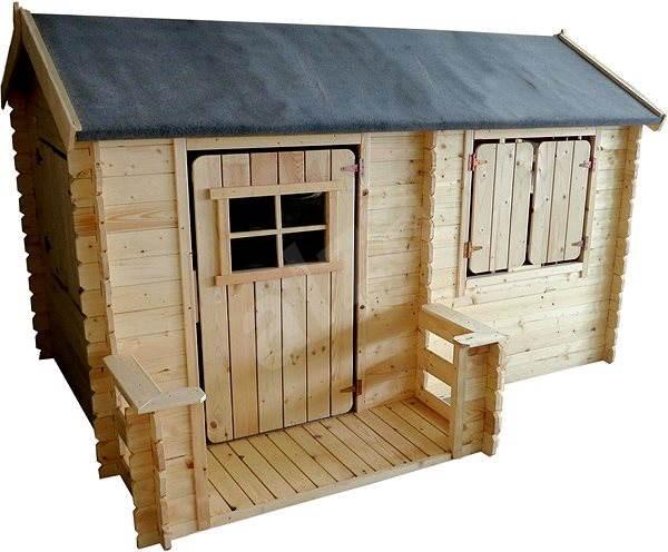 14bd122fb0cee Detský drevený domček – Eliška - Detské ihrisko | Alza.sk
