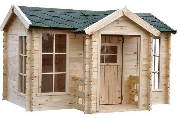 f817661c65a55 Detský drevený domček CUBS - Villa M520 - Detské ihrisko | Alza.sk