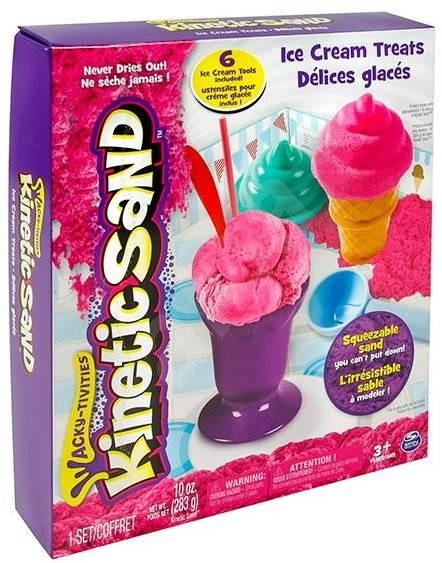 Kinetický piesok – Box 283 g Súprava zmrzlina - Kreatívna súprava