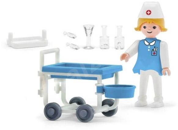 IGRÁČIK – Zdravotníčka s doplnkami - Herný set
