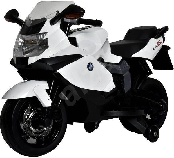 Elektrická motorka BMW K1300 biela - Detská elektrická motorka