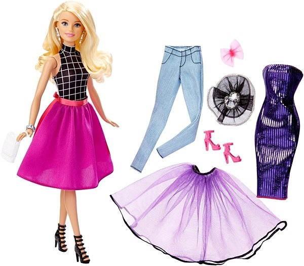 Mattel Barbie - Modelka a šaty blondínka - Bábika  cb8dd9e033e