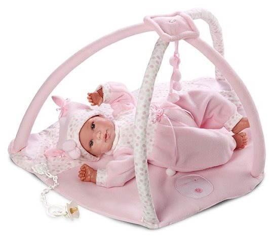 New Born Llorens s hracou dekou - Bábätko