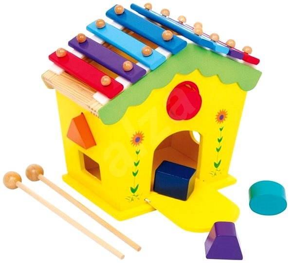 Vkladačka a xylofón v 1 - Hudobná hračka