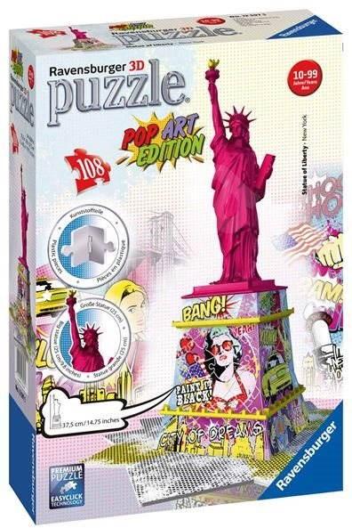 037d4ff6d Ravensburger Socha slobody - Pop art - Puzzle   Alza.sk