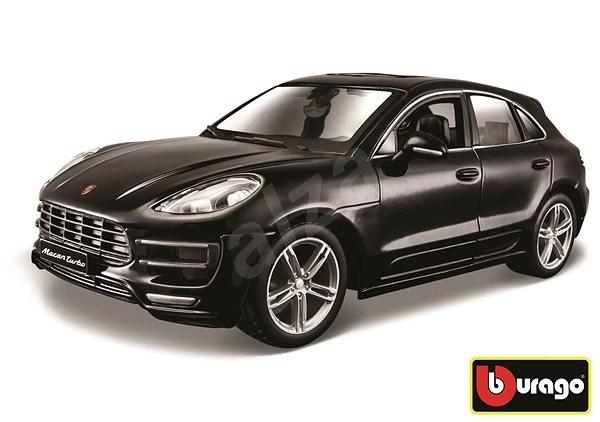 Bburago Porsche Macan Black - Model