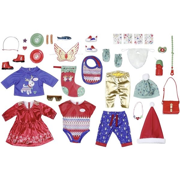 BABY born Adventný kalendár - Doplnok pre bábiky
