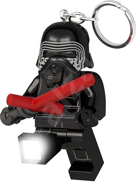 LEGO Star Wars Kylo Ren se světelným mečem - Kľúčenka  e5e50e062be