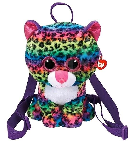 adf17e23495a Ty Gear backpack Dotty – multicolor leopard 25 cm - Plyšová hračka ...