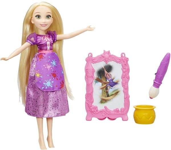 57d7fad2491c Disney Princess Princezna Locika s módními doplňky - Bábika