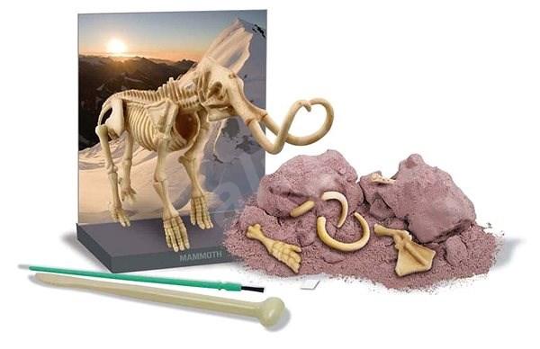 Dinosauria kostra – Mamut - Experimentálna súprava