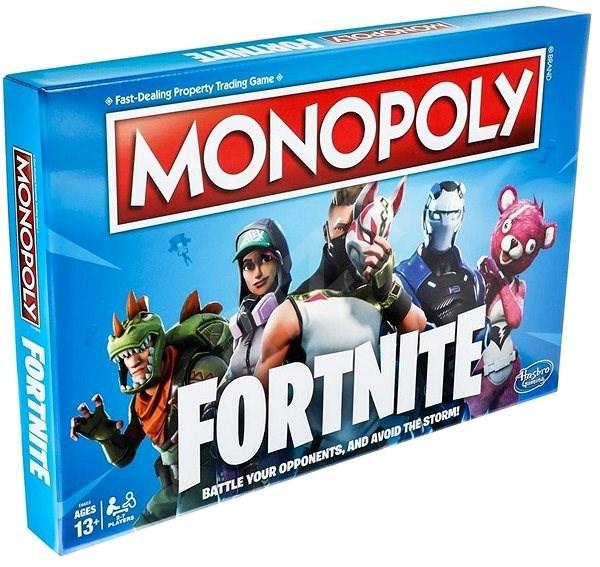 Monopoly Fortnite EN - Spoločenská hra  760335ecdcc