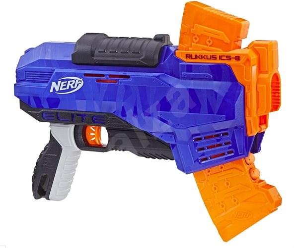 Nerf Elite Ruckus ICS-8 - Detská pištoľ
