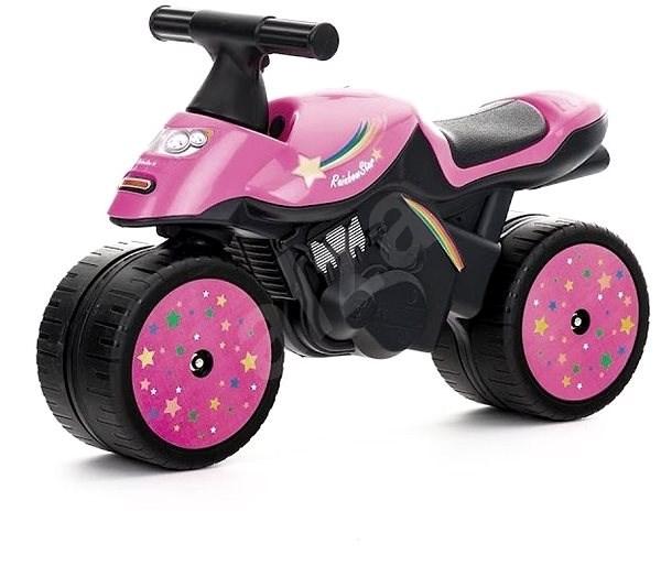 467408ba033a Motorka ružová - Odrážadlo