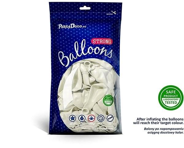 Balóniky 50 ks biele - Balóniky