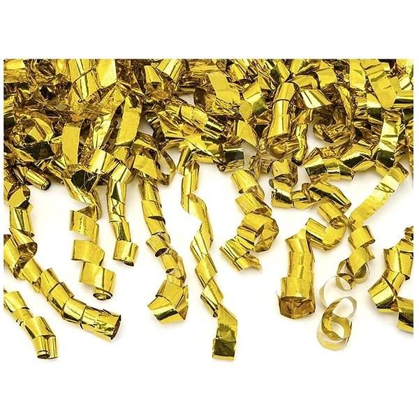Konfeta vystreľovacia zlatá - Herná sada