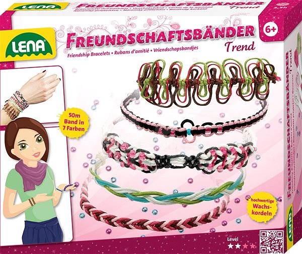 Lena Náramky priateľstva Trend - Kreatívna súprava  9c7895392d7