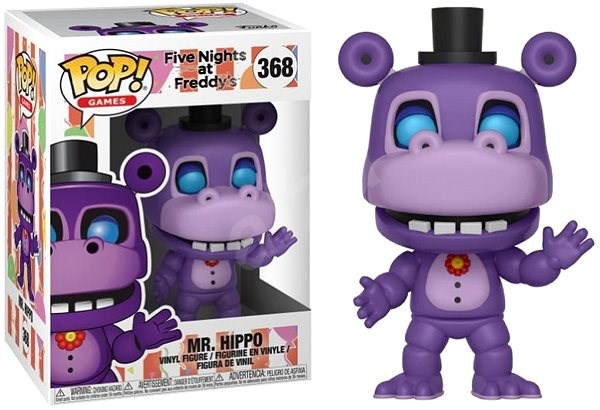 dc83efdfb2a5d Funko Pop Games: FNAF 6 Pizza Sim – Mr. Hippo - Figúrka | Alza.sk