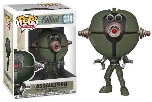 Funko Pop Games: Fallout S2 – Assaultron - Figúrka