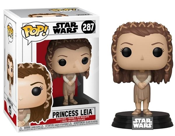 Funko Pop Star Wars: Ewok Village Leia - Figúrka