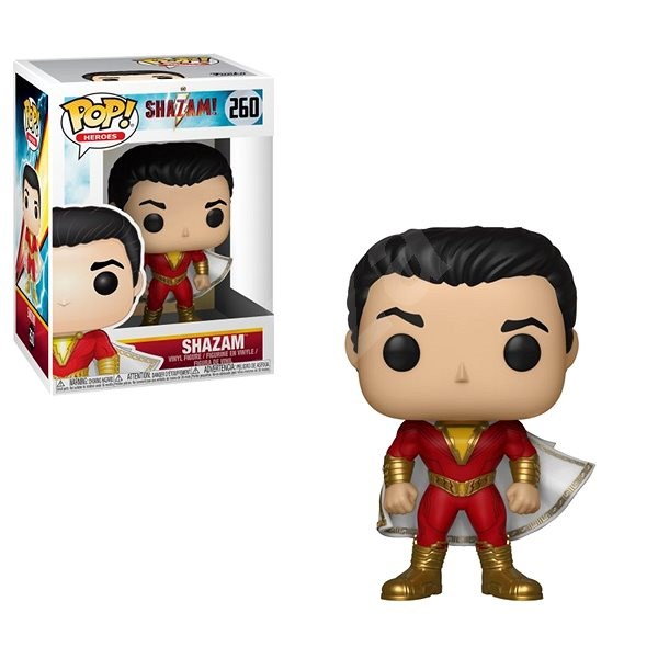 Funko Pop Heroes: Shazam! – Shazam - Figúrka