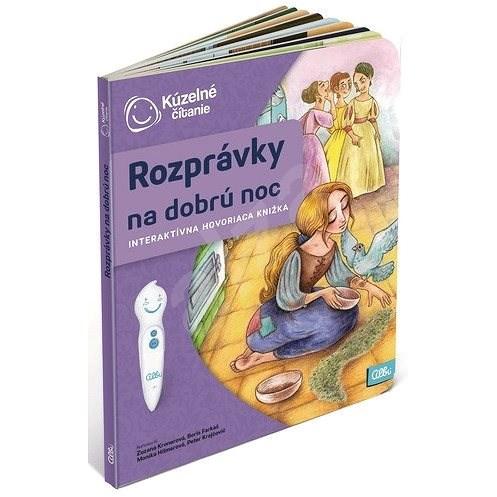 Kúzelné Čítanie - Kniha Rozprávky Na Dobrú Noc SK - Kniha pre deti