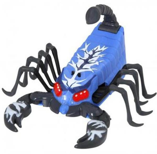 Cobi Divoké zviera Scorpion modrá - Interaktívna hračka
