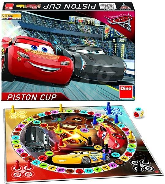 Dino Cars 3 Poď sa Hrať - Spoločenská hra