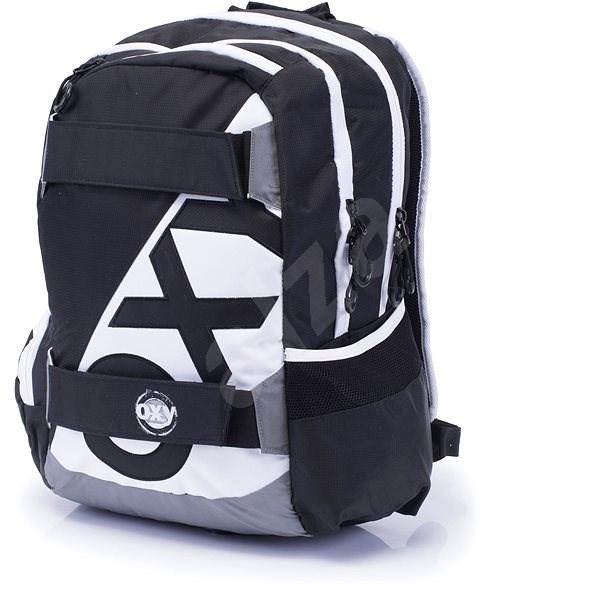f1418d1a1c Karton P + P Oxy Sport I. Black   White - Detský ruksak