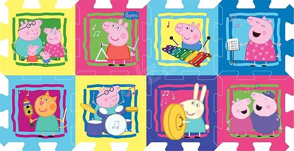 4b61d90da Trefl Penové puzzle Peppa Pig - Penové puzzle | Alza.sk