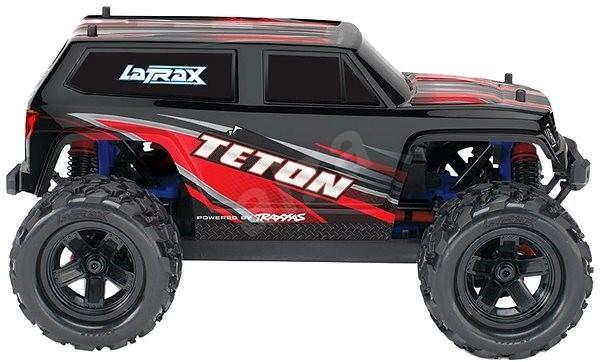 Traxxas Teton 1:18 4WD TQ červený - RC auto na diaľkové ovládanie