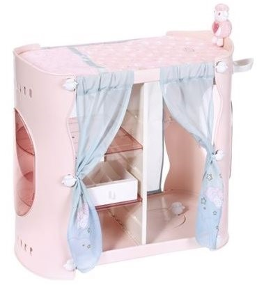 61bad088f185 BABY Annabell Šatník 2v1 - Doplnok pre bábiky
