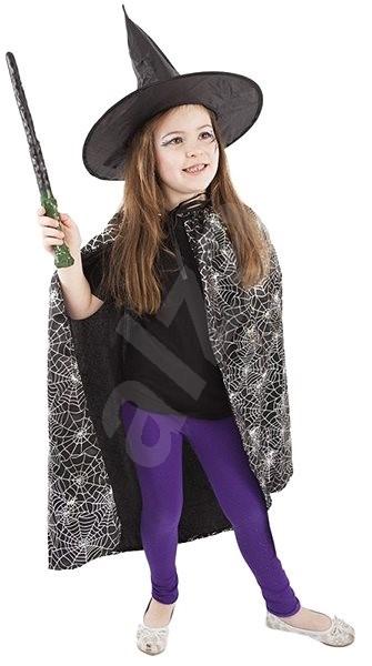 61c74a7e8 Rappa Karnevalový kostým plášť + klobúk čarodejnícky/halloween - Detský  kostým