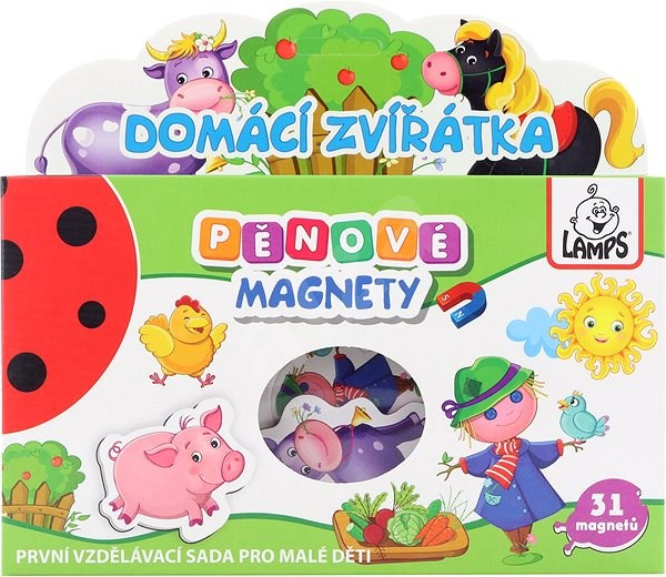 Penové magnety Farma - Figúrky