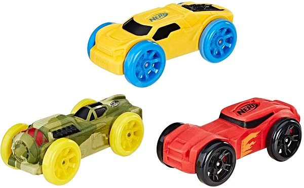 Nerf Nitro náhradné nitro autíčka súprava č. 1 - Rozšírenie herného setu