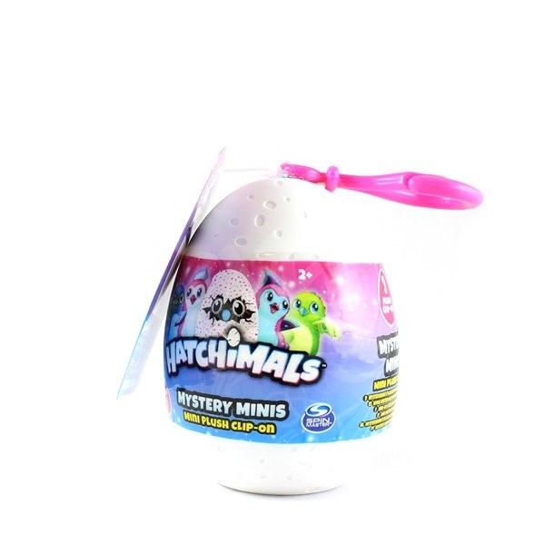 Hatchimals Tajomné vajíčko s plyšovým príveskom - Plyšová hračka